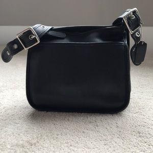 Coach Vintage Legacy Black Leather Crossbody
